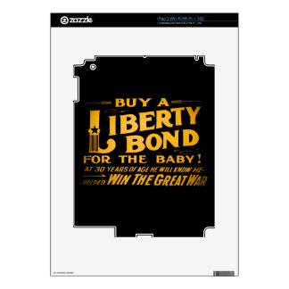 Buy A Liberty Bond for the Baby World War I Decal For iPad 2