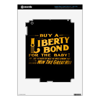 Buy A Liberty Bond for the Baby World War I iPad 3 Skins