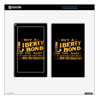 Buy A Liberty Bond for the Baby World War I Kindle Fire Skin