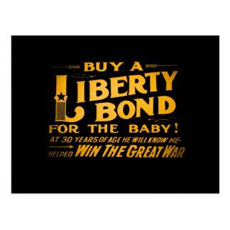 Buy A Liberty Bond for the Baby World War I Postcard