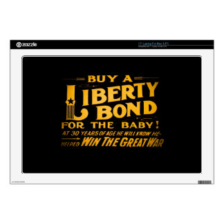 Buy A Liberty Bond for the Baby World War I Skins For Laptops