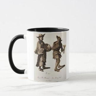 'Buy a new Almanac! Fine writing ink!', illustrati Mug