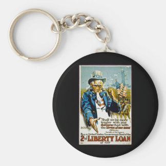 Buy a United States Government Bond  1917 Keychain