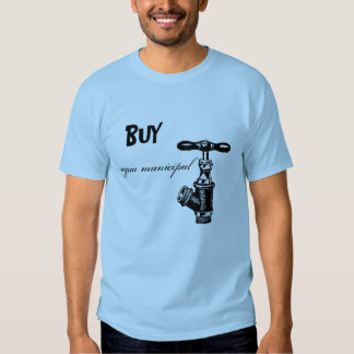 BUY agua municipal T-shirt