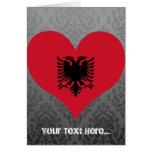 Buy Albania Flag Greeting Cards