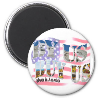 BUY AMERICAN 2 INCH ROUND MAGNET