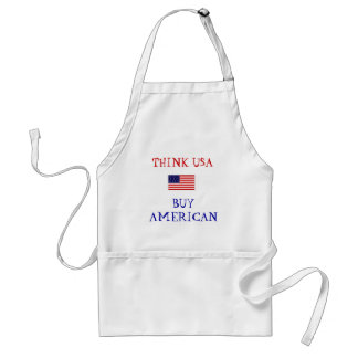 BUY AMERICAN ADULT APRON