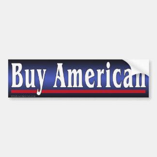 Buy American Blue Bumper Sticker Car Bumper Sticker