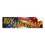Buy American bumpersticker