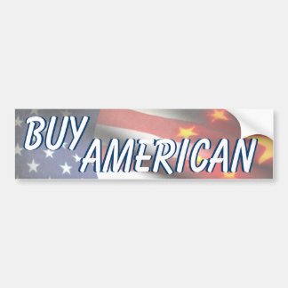 Buy American Car Bumper Sticker