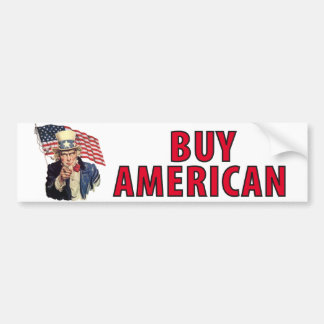 Buy American Bumper Stickers