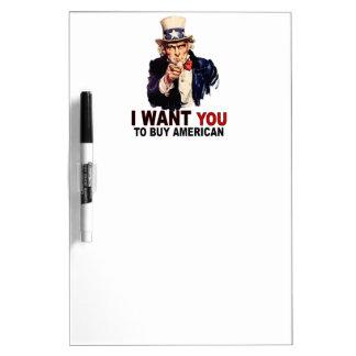 Buy American Dry Erase Whiteboard