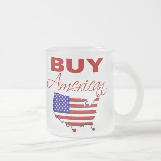 Buy American Frosted Mug
