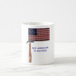 Buy American.  It matters Mug