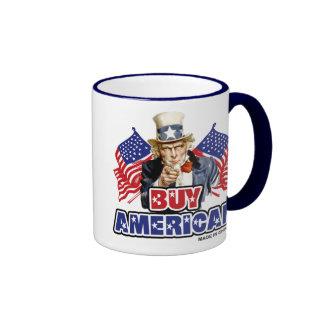 Buy American (Made In China) Coffee Mugs
