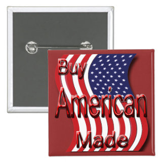 Buy American Made red Pins