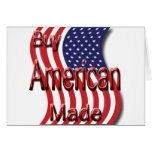 Buy American Made red Cards