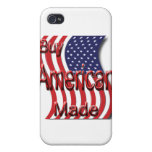 Buy American Made red iPhone 4/4S Cases