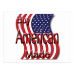 Buy American Made red Postcard