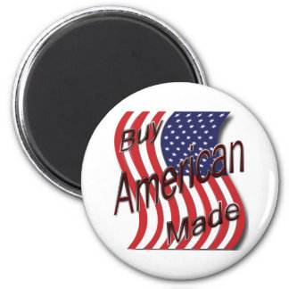 Buy American Made wave 2 Inch Round Magnet