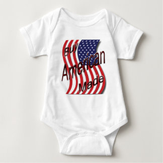 Buy American Made wave Baby Bodysuit