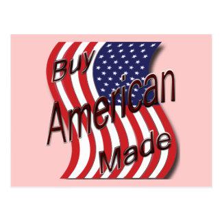 Buy American Made wave Postcard