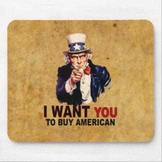 Buy American Mousepads