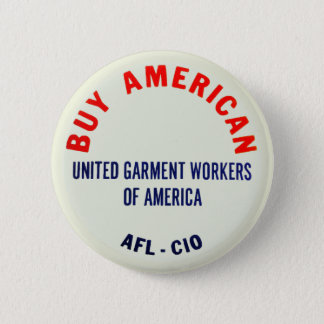 Buy American Pinback Button