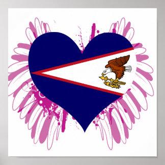 Buy American Samoa Flag Poster