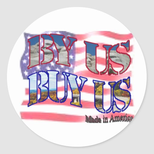 BUY AMERICAN STICKERS
