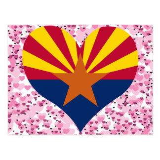 Buy Arizona Flag Postcards