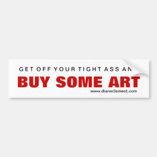 Buy Art #1 Bumper Sticker