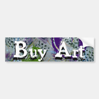 Buy Art Bumper Sticker