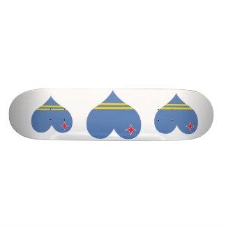 Buy Aruba Flag Skateboard Deck