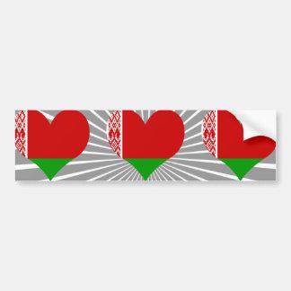 Buy Belarus Flag Bumper Sticker