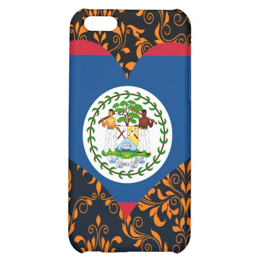 Buy Belize Flag iPhone 5C Cases