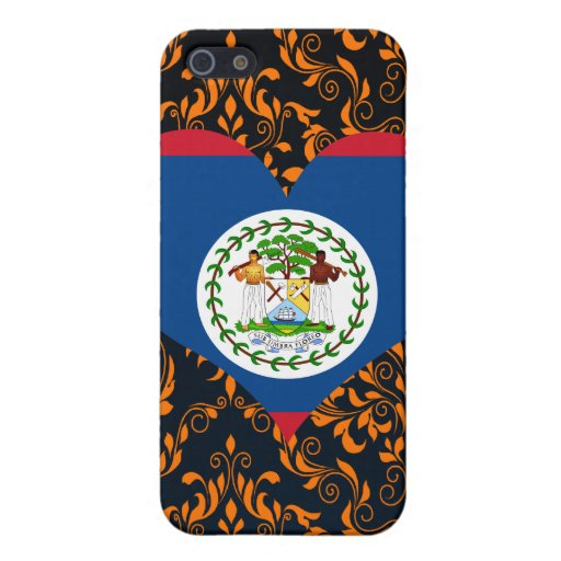 Buy Belize Flag Cover For iPhone 5