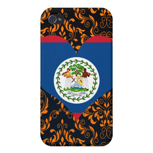 Buy Belize Flag iPhone 4/4S Cover
