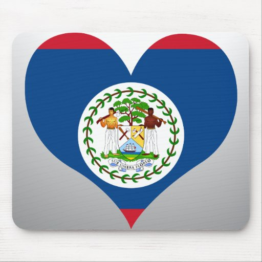 Buy Belize Flag Mouse Pads