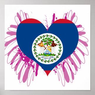 Buy Belize Flag Poster