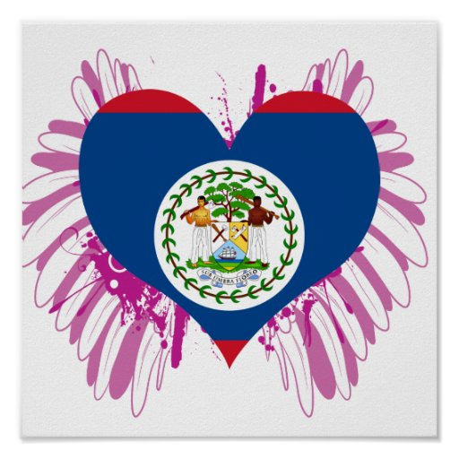 Buy Belize Flag Posters