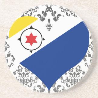 Buy Bonaire Flag Drink Coaster