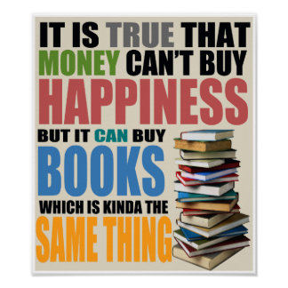 Buy Books Poster