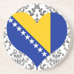 Buy Bosnia and Herzegovina Flag Beverage Coaster