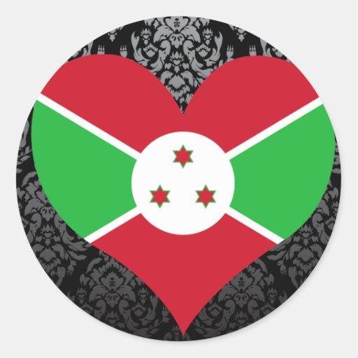 Buy Burundi Flag Sticker