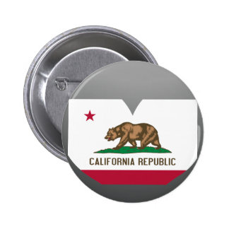 Buy California Flag 2 Inch Round Button