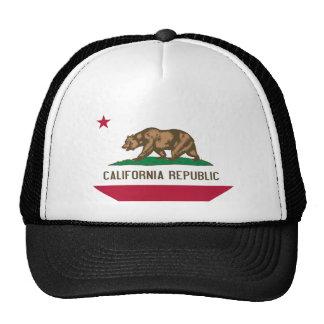 Buy California Flag Trucker Hat