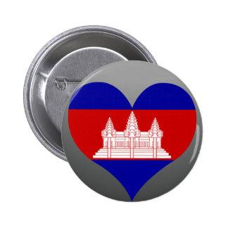 Buy Cambodia Flag 2 Inch Round Button