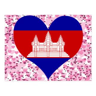 Buy Cambodia Flag Postcard