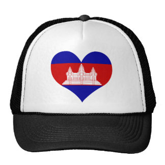 Buy Cambodia Flag Trucker Hat